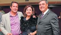 Gabriel Bertea, Marcia Portella y Guillermo Reveco. Foto: archivo El País