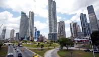 Ciudad de Panamá. Foto. AFP