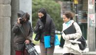Frío: a dos semanas del inicio del invierno las temperaturas hacen estragos. Foto: D. Borrelli