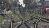 Conductores deberán ser más cuidados en las cercanías de las vías. Foto: A. Colmegna