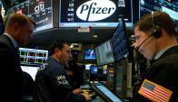La operación de Pfizer hizo saltar las acciones de Medivation. Foto: Reuters