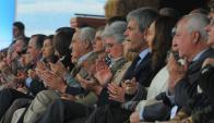 Aplausómetro. Reilly recibió 25; el ministro tan sólo dos. Foto: Ariel Colmegna.