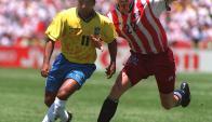 Mundial. Nike buscó lucirse en el de 1994 en EE.UU.(Foto: Archivo El País)
