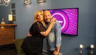 Verónica Lavalle en Tv Show.