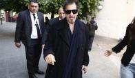 Famoso. Al Pacino conquistó al público en Buenos Aires. Foto: La Nación / GDA.