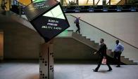 Hall de la Bolsa de Londres. Foto: Reuters