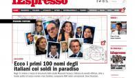 Daniel Fonseca, vinculado con la empresa Mossack Fonseca, según L'Espresso.