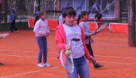 Tenis para todos. Cuarto año consecutivo en Parque Rodó. Foto: Ariel Colmegna
