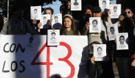 Reclamos por los estudiantes mexicanos desaparecidos. Foto: Reuters