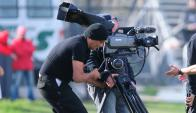 Televisación. Tenfield tiene los derechos del fútbol local asegurados hasta 2025. Foto: Fernando Ponzetto