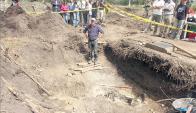 Los restos de Julio Castro fueron encontrados en octubre de 2011 en el Batallón 14. Foto: Archivo.