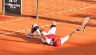 Berlocq puede repetir título en Montevideo. Foto Uruguay Open