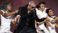 Pitbull hizo mover al Monstruo, temido público de Viña. Foto: EFE