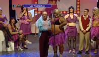"""Luis a el Gucci: """"¡qué pulpa tiene Fatmagul! (Foto: captura de tv)"""