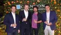 Pablo Landaburu, Ramiro Otaño, Iván Noble, Guido Carignano.