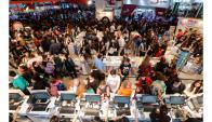 Feria del Libro de Buenos Aires. Archivo El País