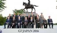 Ministros de las siete potencias del mundo se reunieron. Foto: Reuters