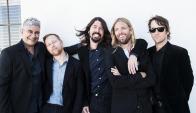 Los miembros de Foo Fighters, Grohl en el medio, lanzaron su octavo disco.