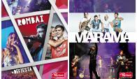 Acuerdo. Fanapel está pagando royalties a Marama y Rombai por las ventas de las cuadernolas ilustradas con estas bandas uruguayas. (Fotos: Gentileza Fanapel)