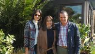 María de la Peña, Clara Billoch, Fernando Bianco.