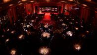 Ballroom del Radisson en plena transmisión de los Premios Iris. Foto: Gerardo Pérez.