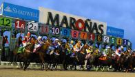 En Maroñas. El hipódromo capitalino tendrá actividad hípica de primera línea. Foto: Darwin Borrelli