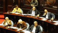 El FA y la oposición prevén que las venias se voten luego de Semana Santa. Foto: M. Bonjour