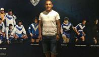 Diego Zabala en Vélez Sarsfield. Foto: Prensa Velez