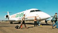 Aviones Bombardier de la empresa Amaszonas. Foto: El Día de Bolivia