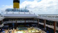 Los cruceristas no son los más gastadores pero dejan $ U.S 20 millones al año.