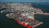 Puerto de Montevideo. Foto: Archivo.