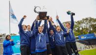 Campeones.  Los Gonzalitos ganaron la final uruguaya. Foto: Mundialito Danone Uruguay