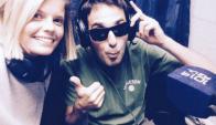 Annasofía Facello y Diego Waisrub, la nueva dupla de Radiomental
