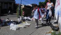 Centros educativos: no pueden poner basura en los contenedores. Foto: F. Ponzetto