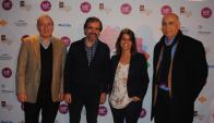 Luis Tamborendeguy, Juan Manuel Zorrilla, Amorina Vaggi, Jorge Geréz.