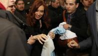 Cristina Fernández volvió a Santa Cruz. Foto: La Nación | GDA