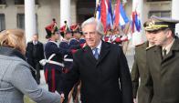 Tavaré Vázquez encabezó acto por natalicio de Artigas. Foto: Presidencia