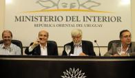 Convenio del Ministerio del Interior INR con la Intendencia de Montevideo. Foto: IMM