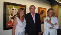 Irene Arrarte, Adolfo Albanell, Cristina Giuria.