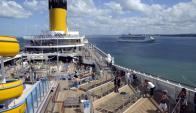 El balneario esteño sufrió la ausencia de los cruceros. Foto: Ricardo Figueredo