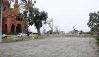 El terreno se encuentra frente a una postal emblemática de Montevideo. Foto: D. Borrelli