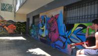 Ante la falta de medidas concretas, el arte sale a escena. Foto: Francisco Flores