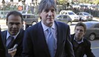 El vice argentino Amado Boudou apuntó en la causa contra su mejor amigo. Foto: Reuters