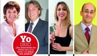 Ana María Mizrahi, Antonio Maeso, Soledad Bauzá y Diego Delgrossi.