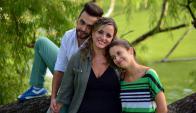 Alejandra Menéndez, Emilio Gallardo y Sofía Hernández
