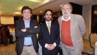 Willy Rey, Facundo de Almeida, Thomas Lowy.