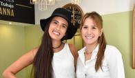 Emilia De León y María Emilia Cerviño.