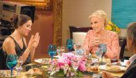 La única vez que Juana Viale almorzó con su abuela en TV