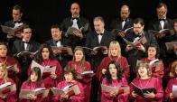 El coro del Sodre tuvo un muy buen desempeño. Foto: Archivo El País
