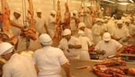 El grueso de la carne colocada en EE.UU. tiene por destino la industria. Foto: Inés Guimaraens
